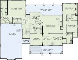 country style house floor plans country style house plan 4 beds 3 00 baths 2373 sq ft plan 17 2143