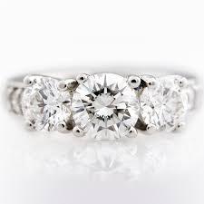 original wedding ring j briggs co the original three diamond engagement ring
