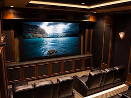 Home Theater Wall Units Amp Entertainment Centers At Dynamic Home Theater Wiring Pictures Options Tips U0026 Ideas Hgtv