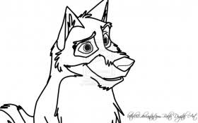 balto coloring pages oh balto wolf coloring page wecoloringpage coloring home