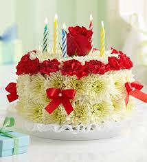 birthday flower cake birthday flower cake bright cake shaped arrangement of bright