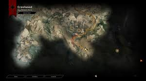 Dragon Age World Map by Accessing South Crestwood Dragon Age Inquisition Arqade