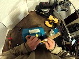 wiring a 3 phase motor 230 volt getting it ready to connect to a