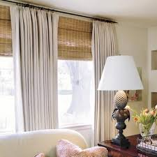 Curtains On Windows With Blinds Inspiration Curtains On Windows With Blinds Ideas Mellanie Design