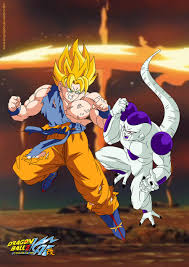 goku vs android 19 goku vs frieza v2 by kingvegito on deviantart