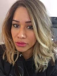 face frame foiled and ashy tone short hair ombre face