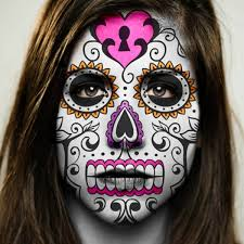 Halloween Makeup Day Of The Dead by Tutorial Day Of The Dead Dia De Los Muertos Picmonkey Blog