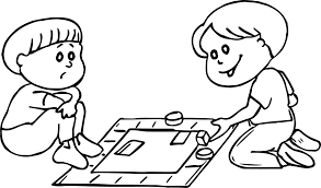 board game loss coloring page wecoloringpage