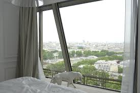 Eiffel Tower Window Curtains by