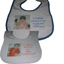 baby bib newborn baby or christening gift graphix u0026 signs