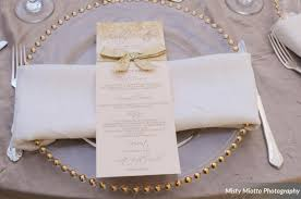 gold flatware rental paradise cove and matthew s gold lakefront wedding a
