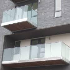U Stairs Design China Modern Design U Channel Glass Railing Balustrade Deck