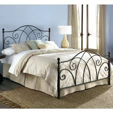 bed frame sleigh wrought iron bed frame iron bed harvey norman