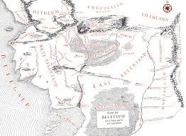 Earth Maps Tolkiens Legendarium Did Maps In Middle Earth Have West On The