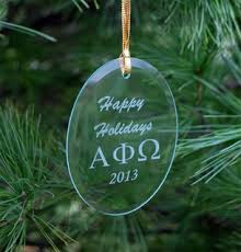 alpha phi omega ornaments gifts