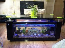 fish tank coffee table height fish tank coffee table with