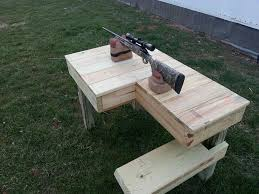 How To Build A Shooting Bench Out Of Wood 48 Best Shooting Bench Images On Pinterest Benches Shooting