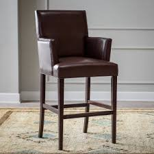 Bar Stool With Arms Bar Stools With Arms Hayneedle