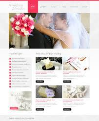 wedding planner psd template 37054