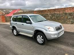 used toyota landcruiser cars for sale motors co uk