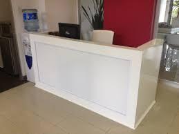Desks Reception Desks For Salons Diy Reception Desk Beauty Pawlor Pinterest Reception Desks