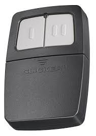 genie keychain garage door opener clicker universal 2 button garage door opener remote klik1c works