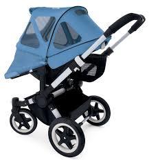 Baby Jogger City Mini Rain Canopy by Stroller Rain Sun Covers Bugaboo Donkey Stroller Breezy Sun Canopy