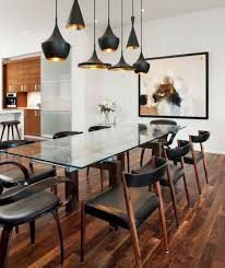 Contemporary Dining Room Lighting Impressive Contemporary Dining Room Light Fixtures Home Interiors