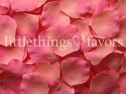 Silk Rose Petals Floating Silk Rose Petals