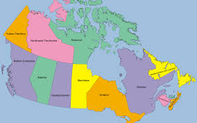 map if canada map of canada puzzle major tourist attractions maps