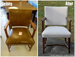 Reupholster Leather Chair Houndstooth Chair Makeover The Nate Berkus Show East Coast