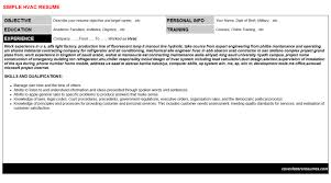 hvac chiller technician resumes u0026 cover letters