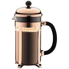 cuisine bodum bodum chambord coffee maker 1 0 l 34 oz copper amazon co uk