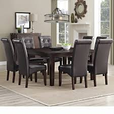 Wayfair Kitchen Sets by Dark Wrought Iron Dining Room Sets On Large Light Blue Rug Brown