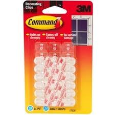 command self adhesive decoration light hooks