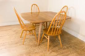 Square Drop Leaf Table Vinterior Vintage Furniture Midcentury Antique Design Furniture