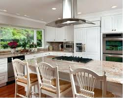 L Shaped Kitchen Islands Kitchen Island Cooktop Example Of A Classic L Shaped Kitchen