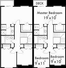 Exciting Duplex House Plans 3 Bedrooms Ideas Best Idea Home House Plans 2 Story