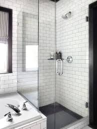 100 Black And White Tile Bathroom Ideas Best 25 Farmhouse Best 25 Subway Tile Showers Ideas On Pinterest Grey Tile Shower