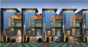 Modern Row Houses - axis valencia in sarjapur road bangalore by axis capstone