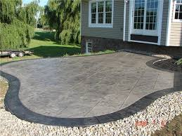 Backyard Concrete Ideas 41 Best Backyard Patio Images On Pinterest Backyard Ideas