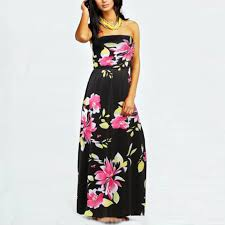 stylish dresses new stylish summer women strapless maxi dresses floral