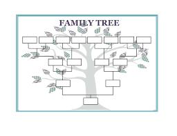 40 Free Family Tree Templates Word Excel Pdf Template Lab Family Tree Template