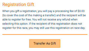 gift register transfer to another runner runsignup helpdesk