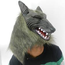 halloween cosplay realistic werewolf wolf masks latex