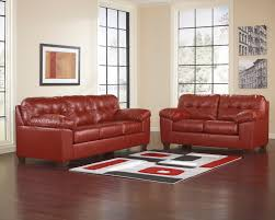 Ashley Furniture Leather Sofa by Ashley Furniture Red Leather Sofa West R21 Net
