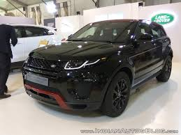 land rover discovery custom range rover evoque showcased at aps 2017