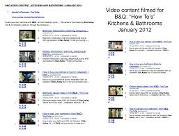 b u0026q home improvement videos to help with planning kitchens
