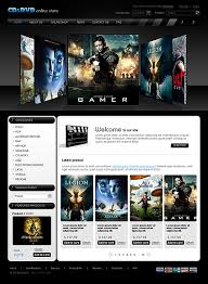 templates for video website video and dvd rental website templates video and dvd rental flash