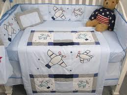 Airplane Crib Bedding Soho Designs Airplane Baby Crib Nursery Bedding Set 14 Pcs